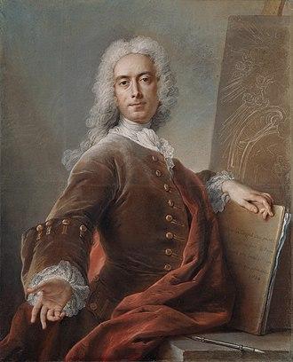 Charles-Antoine Coypel - Charles-Antoine Coypel, self-portrait, 1734.
