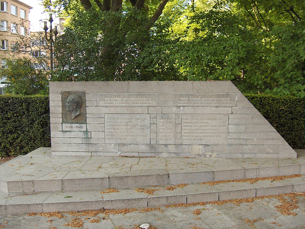 Charles de Broqueville memorial