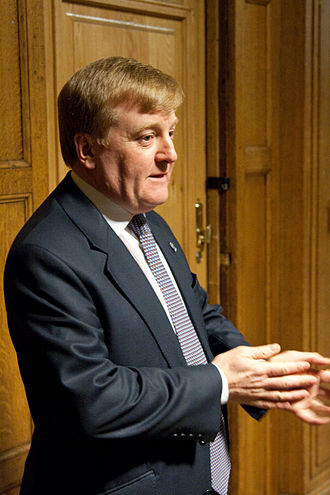 Charles Kennedy - Charles Kennedy attending a debate at the Glasgow University Union on 10 February 2009