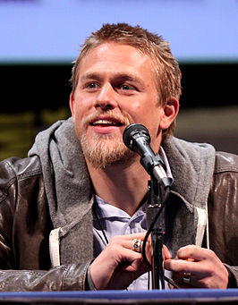 Charlie Hunnam bij Comic Con 2011 in San Diego.