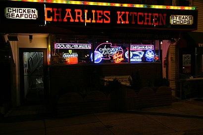 Cómo llegar a Charlie's Kitchen en transporte público - Sobre el lugar