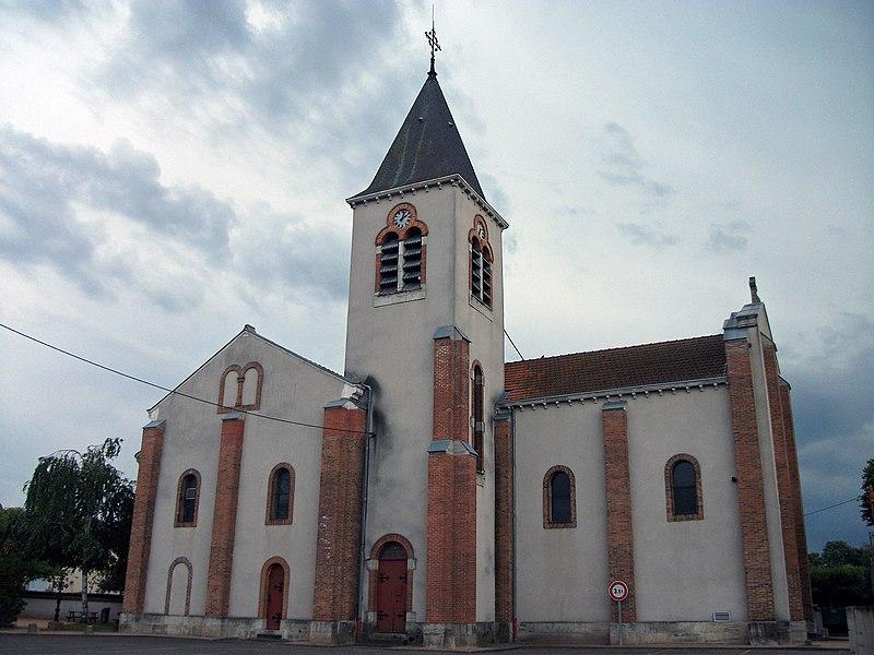 Charmeil's church.