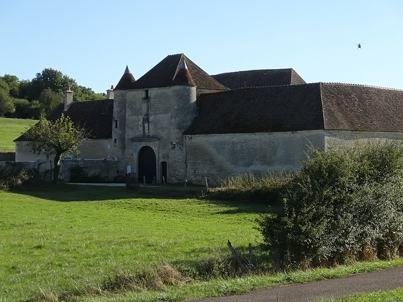 Basseville Charterhouse, Pousseaux, Département Nièvre, Région Bourgogne-Franche-Comté, France
