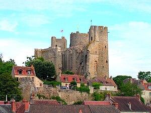 House of Bourbon - The castle of Bourbon-l'Archambault