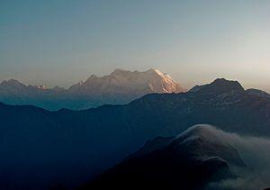Panch Kedar - Chaukhamba peak