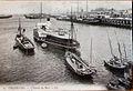 Cherbourg l'entrée du Port 9 VII 1906.jpg