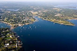 Chester, Nova Scotia - Image: Chester NS Aerial