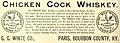 Chicken Cock Whiskey, Paris, Bourbon County, Kentucky - Pacific wine and spirit review (IA pacificwinespiri29sanfrich) (page 140 crop).jpg