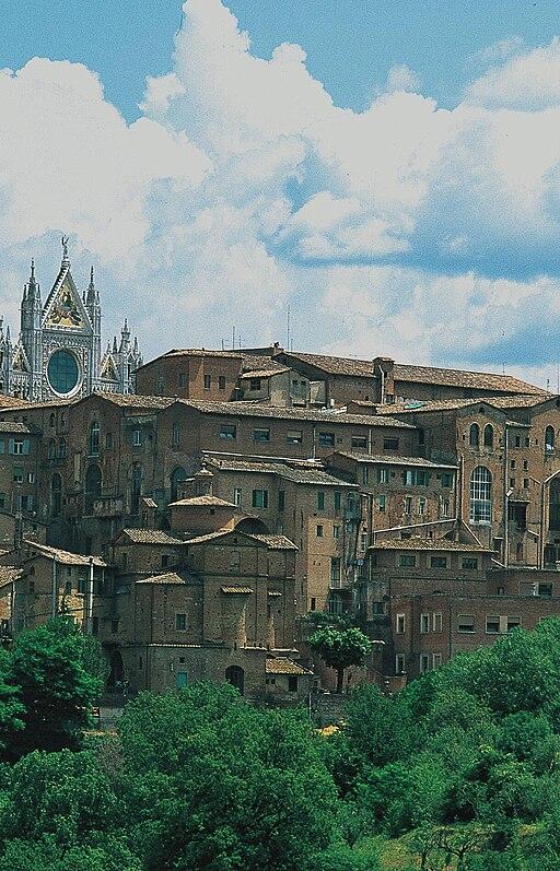Chiesa di San Sebastiano in Vallepiatta e l'Ospedalei Santa Maria della Scala