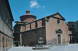 Santo Spirito (Siena) - Image: Chiesa di Santo Spirito siena