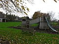 Childrens play equipment in Eastleach Turville - geograph.org.uk - 1633653.jpg
