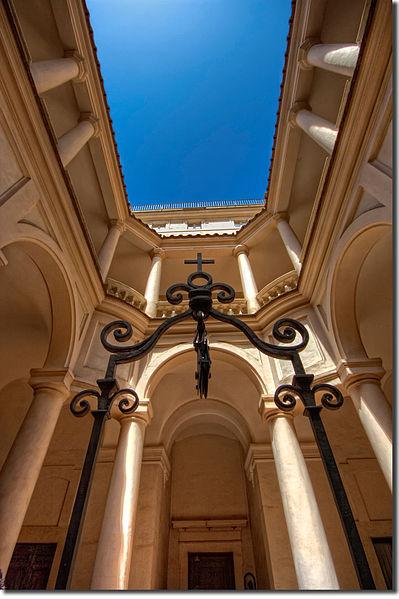 File:Chiostro di San Carlo alle Quattro Fontane.jpg