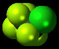 Chloropentafluoroethane 3D spacefill.png