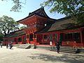 Chokushimon Gate in Upper Shrine of Usa Shrine 3.jpg