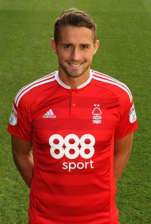 Chris Cohen - Cohen in Nottingham Forest kit, 2016