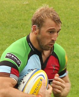 Chris Robshaw Rugby player