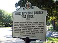 Christ Church Guilford Marker Sept 09.JPG