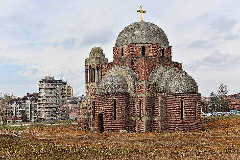Christ the Saviour Cathedral Pristina February 2013