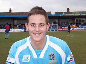 Christian Hanson (footballer) - Hanson as a Grays Athletic player.