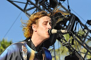 Father, Son, Holy Ghost (album) - Girls' frontman Christopher Owens at Coachella Music and Arts Festival