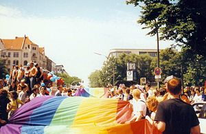Rainbow flag - Image: Christopher Street Day 1997