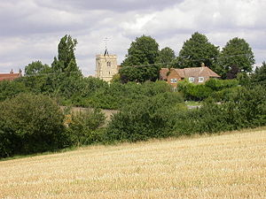 Church of All Saints, Ravensden - Image: Church at Ravensden geograph.org.uk 34961