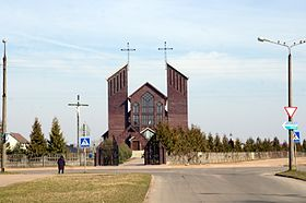 Church of St. Zikmund, 51 Enthusiasts str., Baranovichi city, Baranavichy Raion, Brest Region, Republic of Belarus 02.JPG