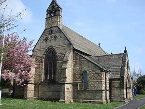 Bournmoor - Image: Church of St Barnabas, Bournmoor