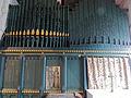 Church of St John, Finchingfield Essex England - Chancel south chapel pipe organ.jpg