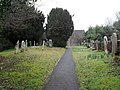 Churchyard at St Mary, Fittleworth (3) - geograph.org.uk - 1778354.jpg