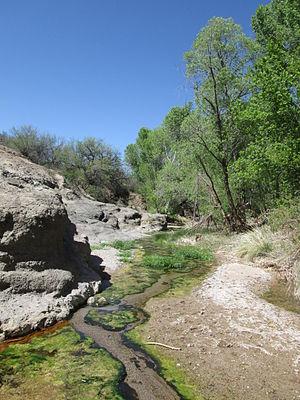 Ciénega Creek - Image: Cienega Creek Natural Preserve Pima County Arizona 2014