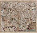 Circuli Austriaci in quo Sunt Archiducatus Austriae Ducatus Stiriae Carintiae Carniolae Comitatus Tirolis et Episcopatus Tridentini novissima deschriptio 1660.jpg