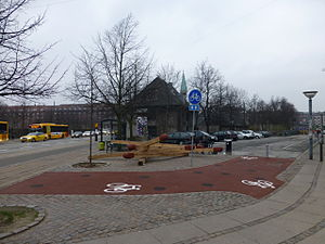 Enghave Plads - The day care on the corner of Enghave Plads and Enghavevej