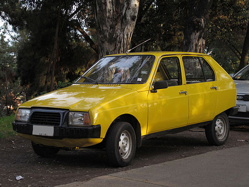 Yellow Citroen Visa Club 1979 (15150017538)