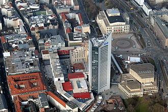 City-Hochhaus Leipzig - Image: City Hochhaus Leipzig