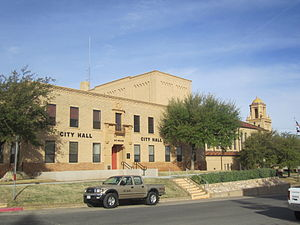 Big Spring, Texas - Big Spring City Hall