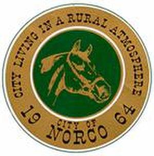 Norco, California - Image: City of Norco, California Seal