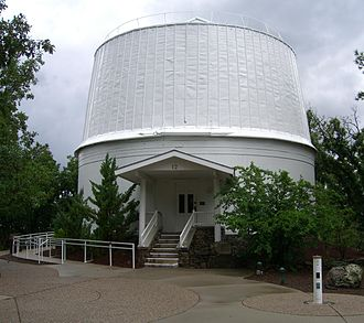 Lowell Observatory - Image: Clark dome