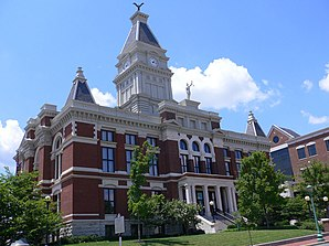 Montgomery County Courthouse in Clarksville