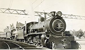 South African Class 14C 4-8-2, 1st batch - No. 1766, as built with a Belpaire firebox, c. 1930