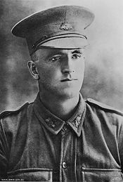 Portrait of 1352 Sergeant Claud Charles Castleton, 5th Company, Australian Machine Gun Corps