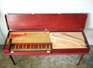 Clavichord - Large five-octave unfretted clavichord by Paul Maurici, after J.A. Hass