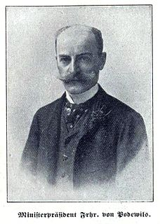 Clemens von Podewils-Dürniz Bavarian politician
