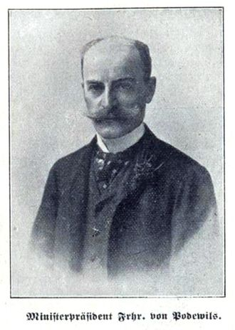 Clemens von Podewils-Dürniz - Image: Clemens von Podewils Dürniz 1
