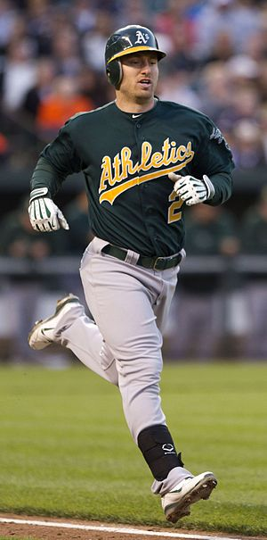 Cliff Pennington (baseball) - Pennington playing for the Oakland Athletics in 2012