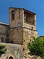 Clock tower in Llimiana.jpg
