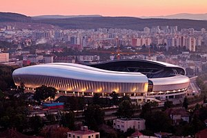 Cluj Arena - Image: Cluj Arena X