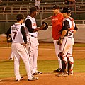 Coach Jeff Ware Tries to Get Things Settled Down 008 (27008965135).jpg