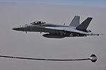 Coalition forces refuel over Iraq between airstrikes against ISIL 150702-F-HA566-453.jpg