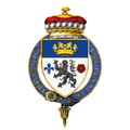 Coat of Arms of Charles Portal, 1st Viscount Portal of Hungerford, KG, GCB, OM, DSO, MC, DL.png